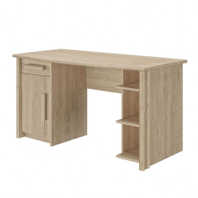 Montana Blonde Oak Desk